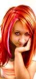 Het gezicht van Adelina Stock Afbeelding