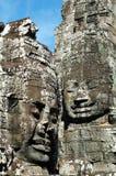 Het gezicht van Angkor Stock Afbeelding