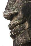 Het gezicht van Bayon, Kambodja Stock Afbeeldingen