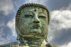 Het gezicht van Boedha. Stock Afbeeldingen