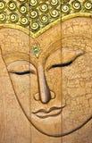 Het gezicht van Boedha Stock Fotografie