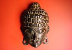 Het gezicht van Boedha Stock Foto