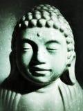 Het gezicht van Boedha Stock Foto's