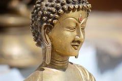 Het gezicht van Boedha Stock Afbeeldingen