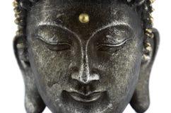Het gezicht van Boedha Royalty-vrije Stock Afbeelding