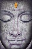 Het gezicht van Boedha het acryl schilderen Royalty-vrije Stock Afbeelding