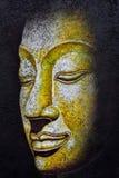 Het gezicht van Boedha het acryl schilderen Royalty-vrije Stock Fotografie