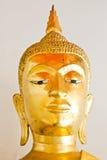Het gezicht van Boedha, het standbeeld van Boedha, Gouden Boedha Stock Foto's