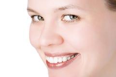 Het gezicht van close-ups stock foto