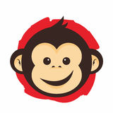 Het gezicht van de aap Royalty-vrije Stock Foto