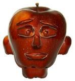 Het gezicht van de appel stock illustratie
