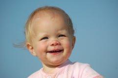 Het gezicht van de baby Stock Fotografie
