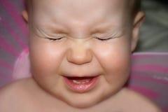 Het gezicht van de baby Royalty-vrije Stock Afbeelding