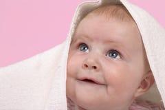 Het gezicht van de baby Royalty-vrije Stock Foto's