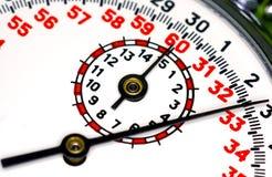 Het Gezicht van de chronometer royalty-vrije stock foto's
