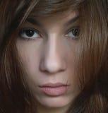 Het gezicht van de close-up royalty-vrije stock afbeeldingen
