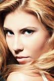Het gezicht van de close-up royalty-vrije stock foto's