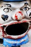 Het gezicht van de clown Royalty-vrije Stock Foto