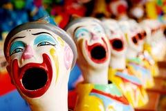 Het Gezicht van de clown Royalty-vrije Stock Afbeelding