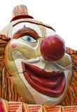 Het gezicht van de clown royalty-vrije stock foto's