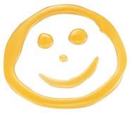 Het gezicht van de honingsglimlach Stock Afbeeldingen