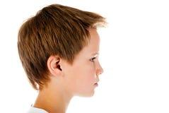 Het gezicht van de jongen Stock Foto's