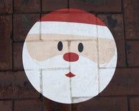 Het gezicht van de Kerstman Royalty-vrije Stock Foto