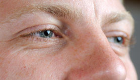 Het gezicht van de mens Royalty-vrije Stock Fotografie