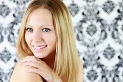 Het gezicht van de tiener Stock Foto's