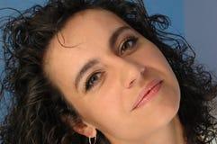 Het gezicht van de vrouw. Royalty-vrije Stock Foto's