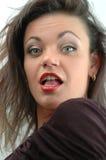 Het gezicht van de vrouw Royalty-vrije Stock Afbeelding