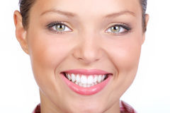 Het gezicht van de vrouw royalty-vrije stock foto