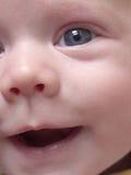 Het gezicht van de zuigeling Stock Foto