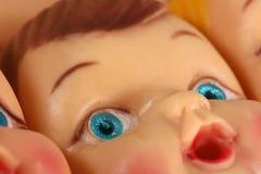 Het Gezicht van Doll Royalty-vrije Stock Foto