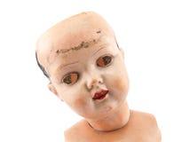 Het gezicht van Doll Stock Afbeelding