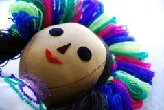 Het gezicht van Doll stock foto