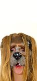 Het gezicht van Funy Royalty-vrije Stock Afbeelding