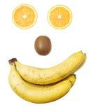 Het gezicht van het fruit royalty-vrije stock fotografie