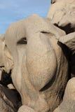 Het gezicht van het graniet Royalty-vrije Stock Foto's