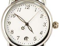 Het gezicht van het horloge Stock Foto