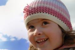 Het gezicht van het meisje Royalty-vrije Stock Foto's