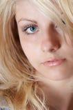 Het gezicht van het meisje Stock Afbeelding
