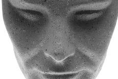 Het gezicht van het model - voorzijde stock afbeelding