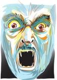 Het gezicht van het spook Stock Foto