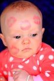Het gezicht van Kissy Royalty-vrije Stock Afbeeldingen