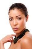 Het gezicht van Skincare van de schoonheid stock afbeelding