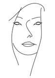 Het gezicht van Woman?s. Stock Afbeeldingen
