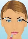 Het gezicht van Womans. Stock Foto's