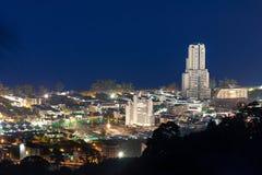 Het gezichtspunt hoogste heuvel van Phuket Stock Fotografie