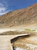 Het Gezichtspunt van Badwater stock fotografie
